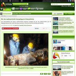 Pic de radioactivité inexpliqué à Fukushima