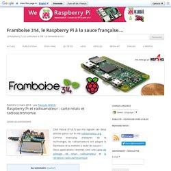 Raspberry Pi et radioamateur : carte relais et radioastronomie