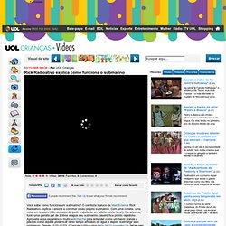 Rick Radioativo explica como funciona o submarino - Vídeos - UOL