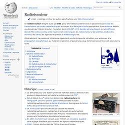 Radioécouteur