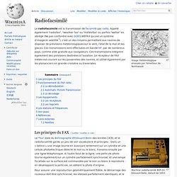 Radiofacsimilé