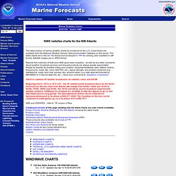 Marine Weather Charts (Boston Area)