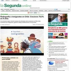 Radiografía a inmigrantes en Chile: Crecieron 78,5% en 8 años