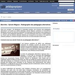 Bien-être : Sylvain Wagnon : Radiographie des pédagogies alternatives