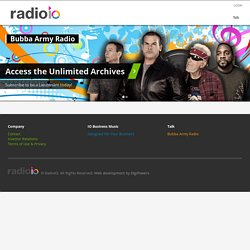 Internet Radio | radioio | The Best in FREE Internet Radio - hom