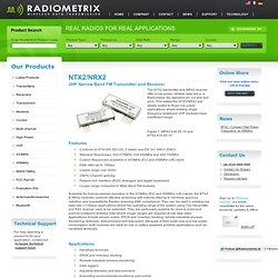 Radio Modules - RF Modules - Wireless Modules