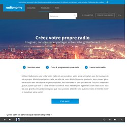 Produce your own radio stations for free