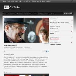 Umberto Eco - RSI Radiotelevisione svizzera