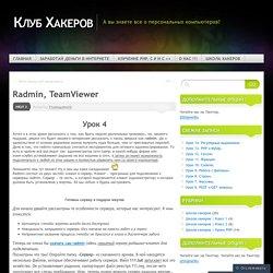 Radmin, TeamViewer