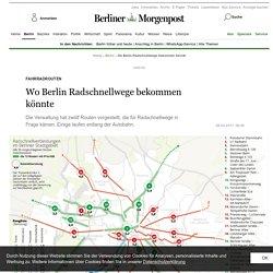 Wo Berlin Radschnellwege bekommen könnte - Berlin - Aktuelle Nachrichten