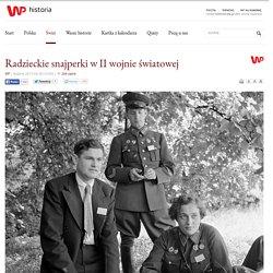 Radzieckie snajperki w II wojnie światowej