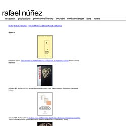 rafael núñez - publications