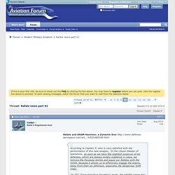 Rafale news part XI - Page 10 - Key Publishing Ltd Aviation Forums