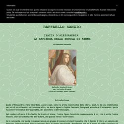 Raffaello - Ipazia - La Sapienza Della Scuola Di Atene