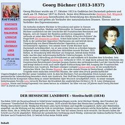 Literatur - Georg Büchner (1813-1837)