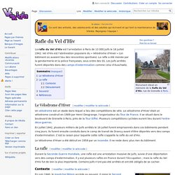Rafle du Vel d'Hiv