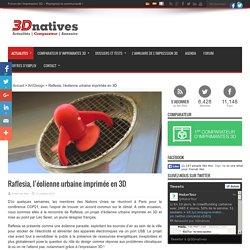 Raflesia, l'éolienne urbaine imprimée en 3D