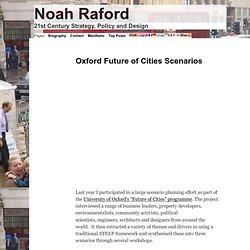Oxford Future of Cities Scenarios
