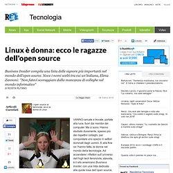 Linux è donna: ecco le ragazze dell'open source