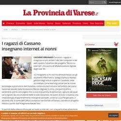 I ragazzi di Cassano insegnano internet ai nonni - Cronaca Cassano magnago