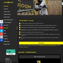 Rage Room - Battle Sports™ Inc.