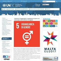 Obiettivo 5: Raggiungere l'uguaglianza di genere ed emancipare tutte le donne e le ragazze