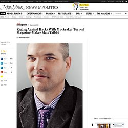 Raging Against Hacks With Matt Taibbi