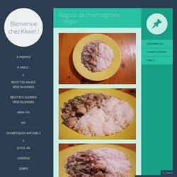 Ragoût de champignons – Vegan