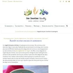 Ragoût de pois chiches et aubergine