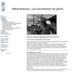 """Raharimanana - """"Les Cauchemars du gecko"""" (Extraits) - remue.net"""