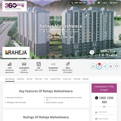 Raheja Maheshwara in Sohna Road South Gurgaon By Raheja