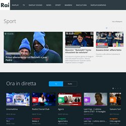 Rai.it - Homepage
