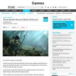 Tomb Raider Review (Multi-Platform)