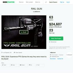 RAIL GUN by UzBrainnet