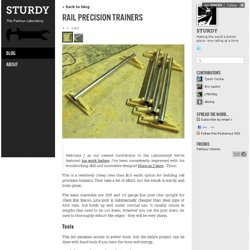 Rail Precision Trainers - STURDY