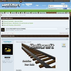 1.0] Railcraft 3.0.0 [FORGE, SMP]