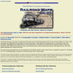 Railroad Maps Collection
