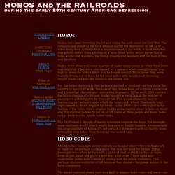 Hobos and the Railroads during the American Depression of the Early 20th Century