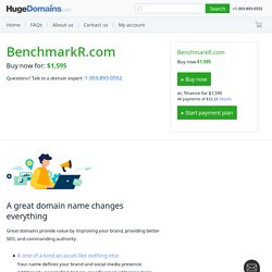 Home » Benchmarkr.com