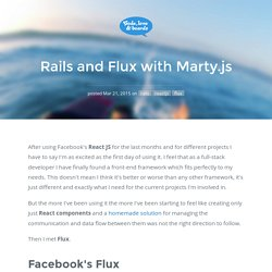 Rails and Flux with Marty.js - Code, Love & Boards