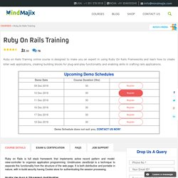 Live Ruby on Rails Training Classes by Ruby on Rails Experts
