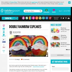 rainbow cupcakes and rainbow cupcake recipe make rainbow cupcakes | Simple Recipes & Easy Recipes - Quick Dish
