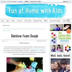 Rainbow Foam Dough
