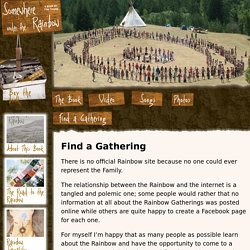 Where is the Next Rainbow Gathering? Get Your Map and Directions!