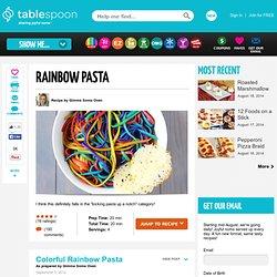 Easy Rainbow Pasta Recipe