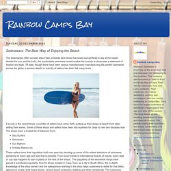 Rainbow Camps Bay: Swimwears: The Best Way of Enjoying the Beach