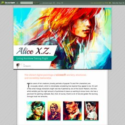 Alice X. Z. - Living Rainbow Taking Flight by