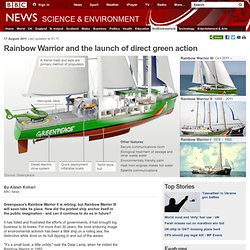 Rainbow Warrior and the launch of direct green action