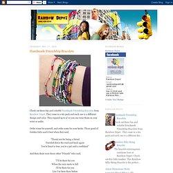 RainbowDepot.com: Handmade Friendship Bracelets
