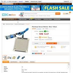 Buy Raindrops Sensor Module - Blue + Black at Cheap Price Online